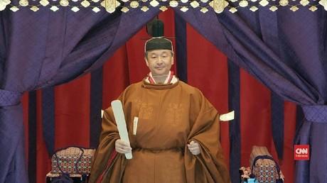 VIDEO: Upacara Penobatan Kaisar Jepang Naruhito