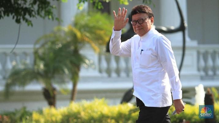 Tjahjo Kumolo. (CNBC Indonesia/Tri Susilo)
