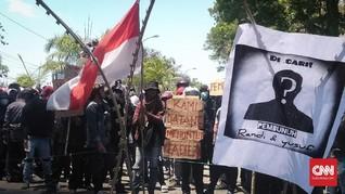 Desak Usut Penembakan, Mahasiswa Demo di Hari Sumpah Pemuda