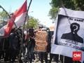 Mahasiswa Kendari Kembali Demo, Dua Aparat Kena Pukul