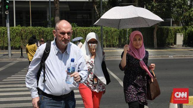 LAPAN: Suhu Panas Kerap Terasa, Bukan Cuaca Ekstrem