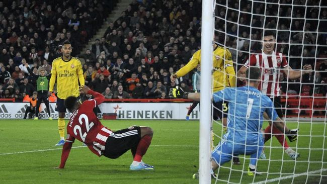 Hasil Liga Inggris: Arsenal Kalah dari Sheffield United