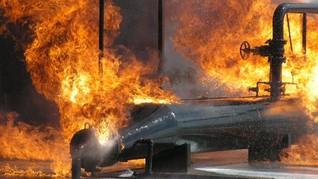 Pertamina Mulai Data Kerugian Kebakaran Pipa BBM di Cimahi