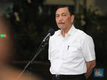 Perintah Luhut ke TNI Hingga Polri: Awasi Kerumunan Warga!