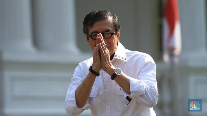 Demikian dikatakan Yasonna di Kompleks Istana Kepresidenan, Jakarta, Selasa (28/1/2020).
