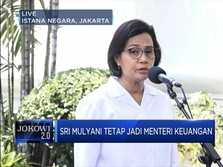 Ke Istana, Sri Mulyani Tetap Jadi Menteri Keuangan