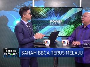 Tunda Stock Split, Saham BCA Terus Melaju
