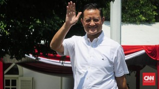 Juliari Batubara, Politikus PDIP Pertama yang Tiba di Istana