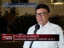 Tjahjo Kumolo Jadi Menteri Jokowi Lagi