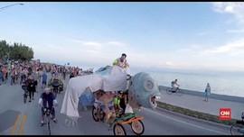 VIDEO: Ketika 11 Ribu 'Zombie' Naik Sepeda