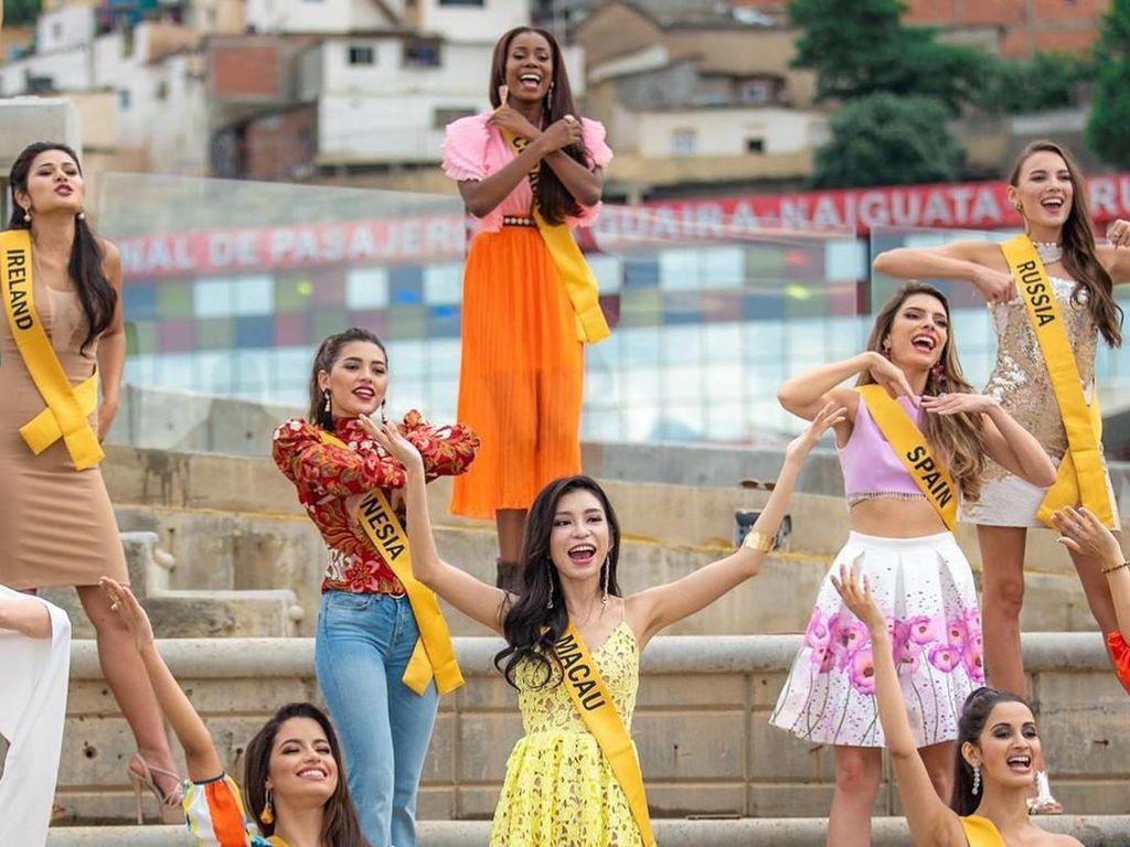 Kocak! Finalis Miss Grand International Joget 'Entah Apa Yang Merasukimu'
