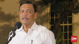 Luhut Kumpulkan Menteri Bahas Natuna Hingga Pariwisata