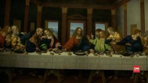 VIDEO: Louvre Gelar Pameran 5 Abad Wafatnya Leonard Da Vinci