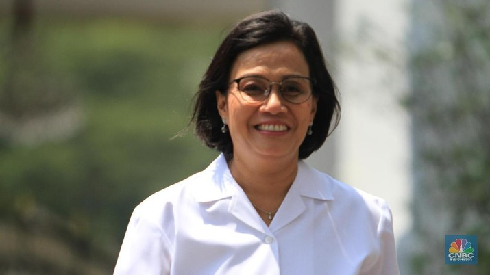 Sri Mulyani kembali menjadi menteri keuangan di kabinet Joko Widodo (Jokowi) Jilid II.