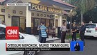 VIDEO: Tak Terima Ditegur Merokok, Murid Tikam Guru