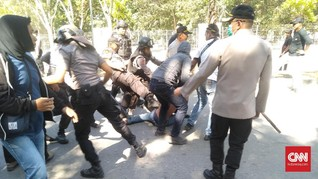 Diduga Provokator, Tiga Mahasiswa Halu Oleo Kendari Ditangkap