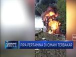 Kebakaran Hebat Pipa Pertamina Dekat Proyek Kereta Cepat