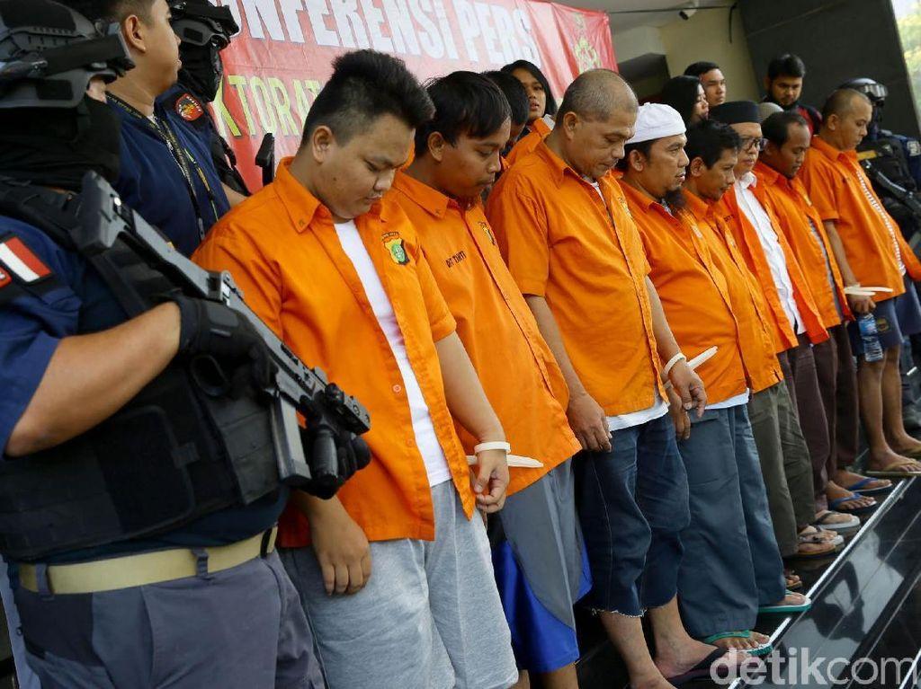 Tampang Para Pelaku Penganiayaan Ninoy Karundeng