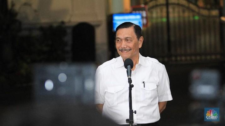 Luhut Binsar Pandjaitan, (CNBC Indonesia/Tri Susilo) (CNBC Indonesia/Tri Susilo)