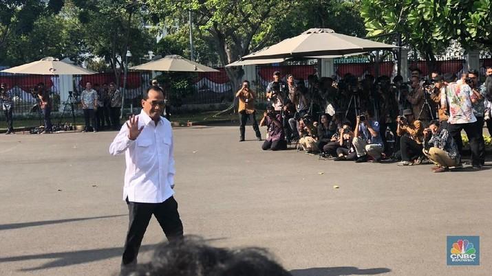 Wah, Yasonna Laoly & Budi Karya Juga Sambangi Istana