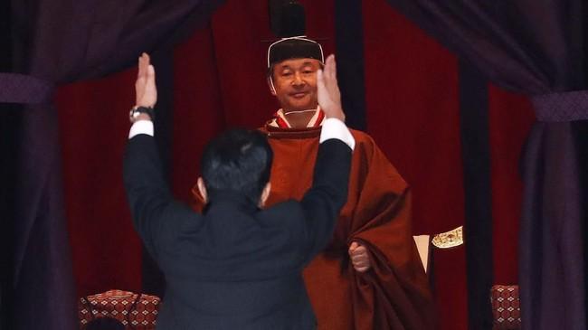 FOTO: Ritual Menuju Penobatan Naruhito Menjadi Kaisar Jepang