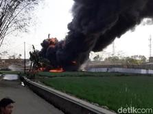 Pipa Terbakar di Cimahi, Pertamina Pastikan Stok BBM Aman