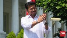 Jokowi Minta Syahrul Yasin Urusi Pertanian dan Perikanan