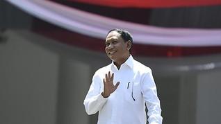 Jokowi dan Zainudin Amali Tak Bahas Perubahan Kemenpora