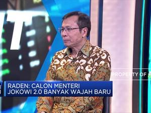 Ekonom: Wajah Baru Kabinet Jokowi Bisa Dorong Perubahan