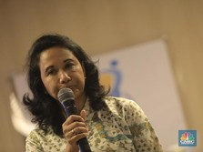 Menahan Tangis, Rini Soemarno Pamit di Kementerian BUMN