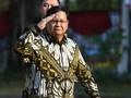 Istana Bergemuruh saat Jokowi Umumkan Prabowo sebagai Menhan