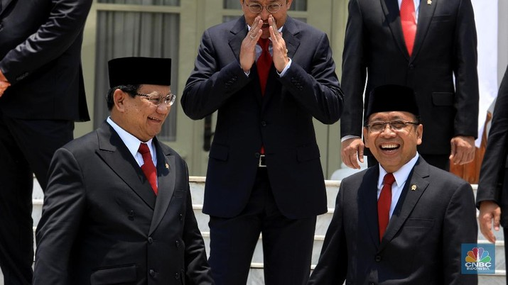 Prabowo Subianto (CNBC Indonesia/Tri Susilo)