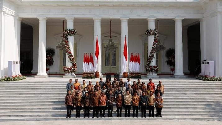 Jokowi menyampaikan inti penunjukkan para menteri tersebut adalah agar terobosan dan sinergi antarkementerian bisa meningkat.