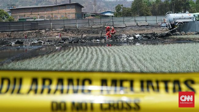 Polisi Selidiki Penyebab Kebakaran Pipa Pertamina di Cimahi