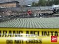 Kebakaran Pipa Akibat Proyek Kereta Cepat Cemari Sawah Warga