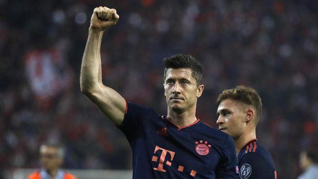Lewandowski Memanaskan Perebutan Top Skor Liga Champions