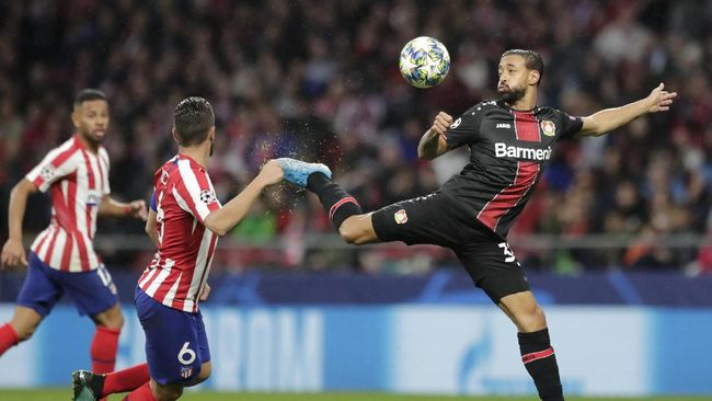 Hasil Liga Champions: Atletico Menang Tipis atas Leverkusen