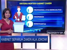 Kabinet Separuh Zaken Ala Jokowi