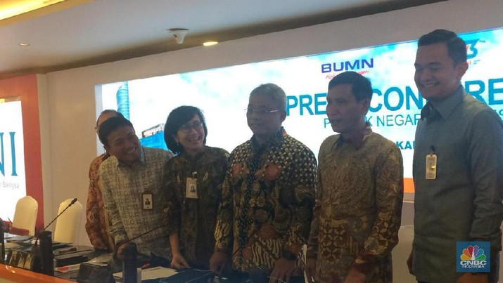 PT Bank Negara Indonesia Tbk (BBNI) mencatatkan laba bersih senilai Rp 12 triliun hingga kuartal III-2019.