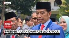 VIDEO: Presiden Ajukan Idham Azis Jadi Kapolri