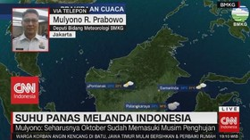 VIDEO: Suhu Panas Melanda Indonesia