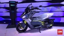Skuter Listrik Yamaha Mirip Nmax, 'Kode' Lawan PCX EV