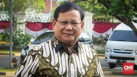 Menteri Terbaik Versi Survei, Prabowo Tak Mau Besar Kepala