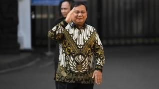 Makna Batik Prabowo Saat Dikenalkan Jadi Menteri Pertahanan