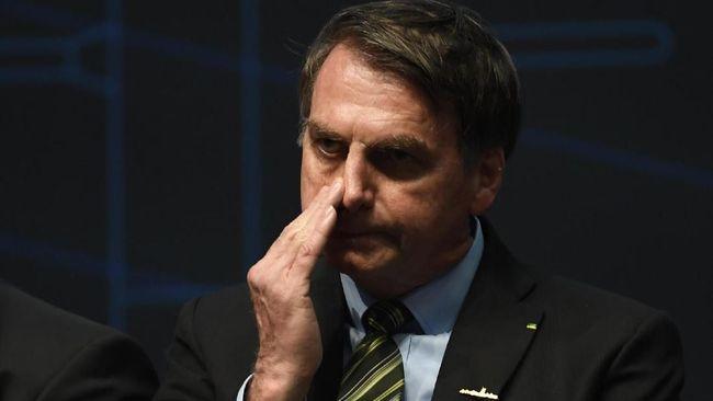 Usai Dikabarkan Terinfeksi, Presiden Brasil Negatif Corona