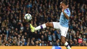 VIDEO: Guardiola Takjub Sterling Hattrick di Liga Champions