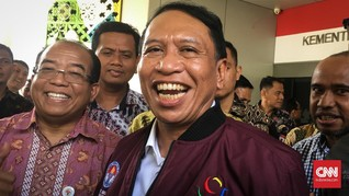 Pesan Singkat Sarat Makna Jokowi kepada Menpora