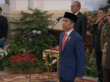 Jokowi: Tak Ada Target 100 Hari, Kerja-Kerja-Kerja!