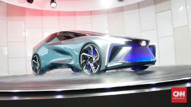 Model Konsep Listrik Pertama Lexus