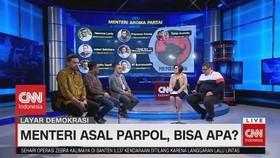VIDEO: Menteri Asal Parpol, Bisa Apa? (1/4)